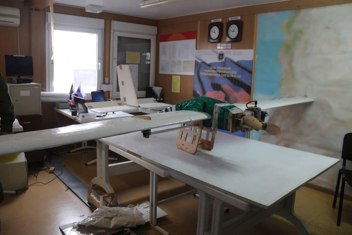 Нападение беспилотных летательных аппаратов на российские базы в Сирии