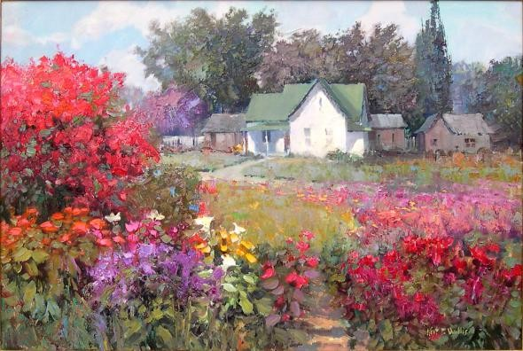 Американский художник-импрессионист нового поколения Kent R. Wallis