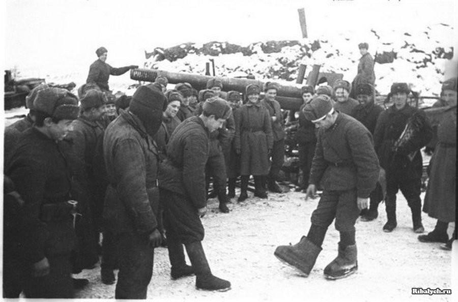 Небывалое везение советского бойца во время войны