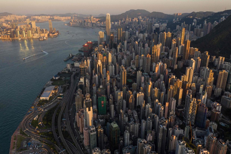 Высотный Гонконг в фотографиях