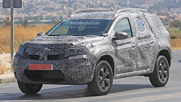 Новый Renault Duster замечен во время тестов