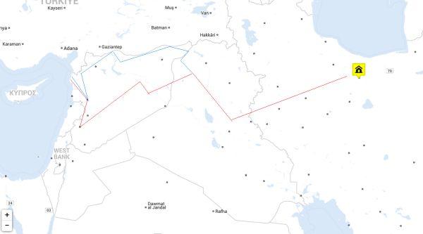 Иранский коридор к Средиземному морю