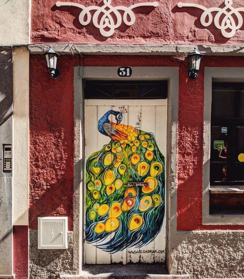 2. дверь, картина, мадейра, португалия, путешествие, фотография, фотомир