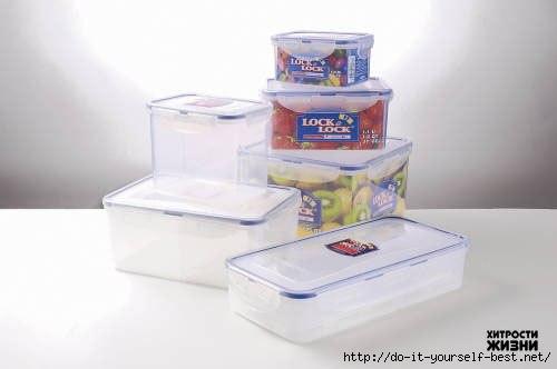 10 способов удалить неприятный запах из пластиковых пищевых контейнеров.