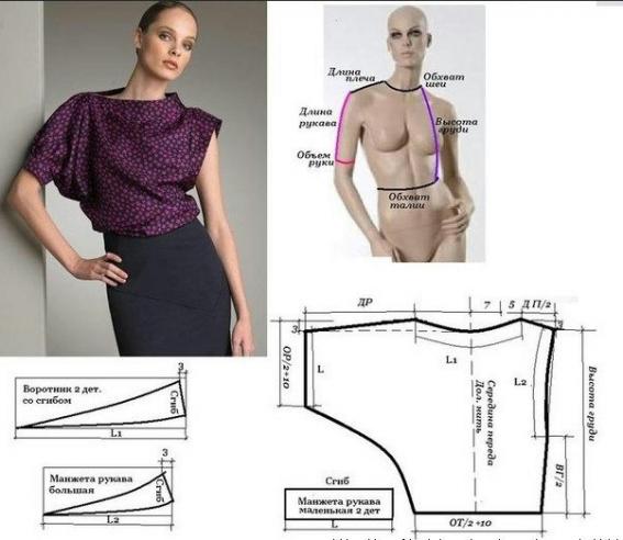 Сшить блузку это просто 377