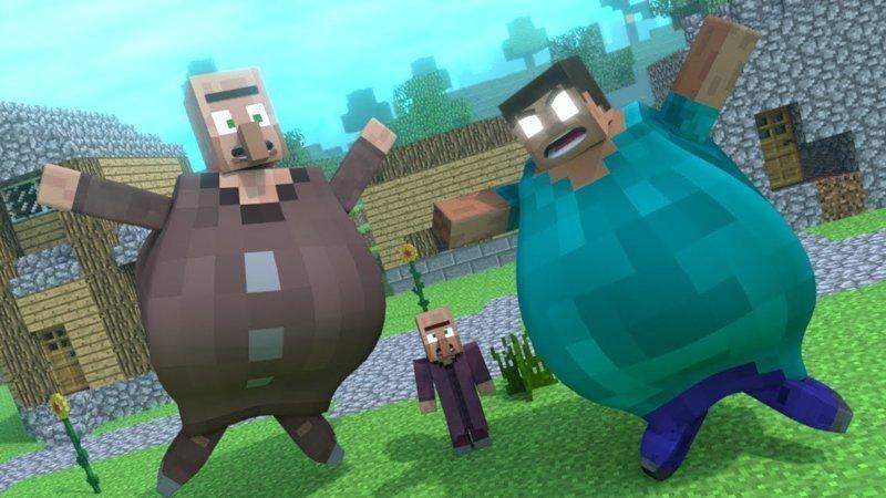 Как мы с Аркадием Петровичем Пони Ленд в Minecraft строили minecraft, дети, истории, пони ленд, прикол, юмор