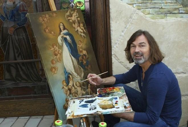Талантливый художник или удачливый арт-бизнесмен : портреты Никаса Сафронова