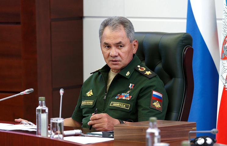 Шойгу: обстановка у западной границы РФ напряженная и имеет тенденцию к обострению