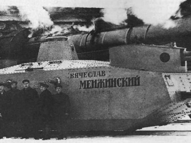 Танки на рельсах - как полуграмотный рабочий вооружал войска НКВД