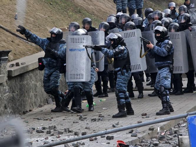 """Из """"Беркута"""" предлагают сформировать отряды для свержения майданщиков"""