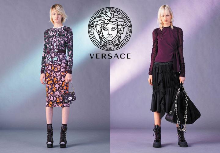 Versace коллекция - осень-зима 2017/2018