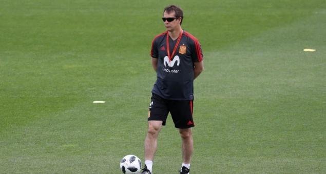 Лопетеги уволен из сборной Испании за день до старта чемпионата мира
