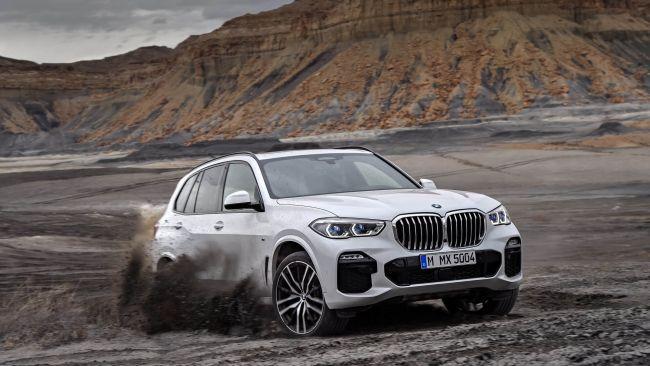 Новый BMW X5: смотрим, изучаем, оцениваем