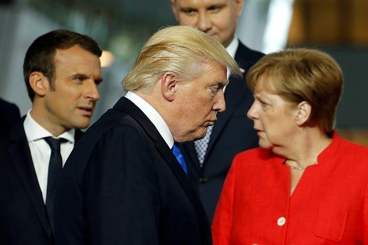 """Трамп - на встрече с лидерами ЕС: """"Немцы - плохие, очень плохие"""""""