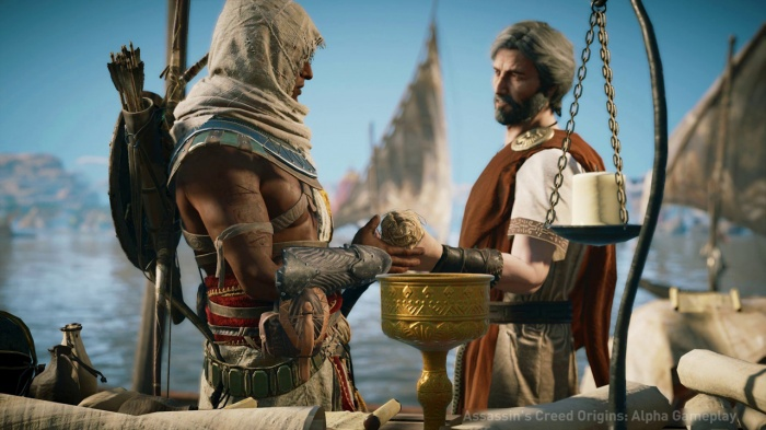 В Assassin's Creed: Origins …