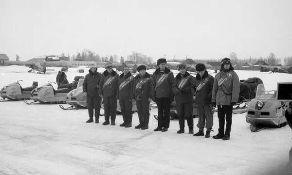 Первый советский снегоход «Буран» буран