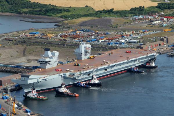 Удобная мишень: российские военные оценили новый британский авианосец