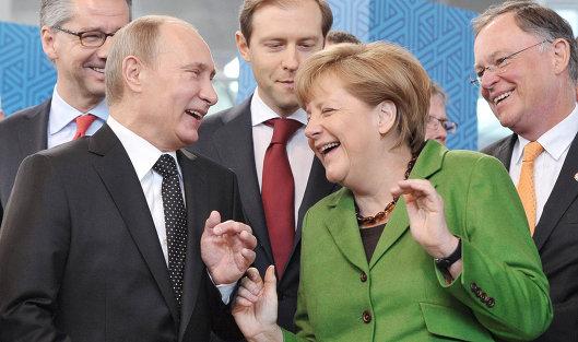 МЕРКЕЛЬ объявила о намерении встретиться с ПУТИНЫМ на саммите G20