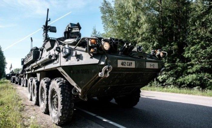 А ведь русские еще даже не напали. При столкновении бронетехники в Литве пострадало около 10 американских военных