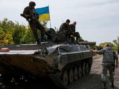 Украинские силовики отбили нападение на аэропорт в Донецке