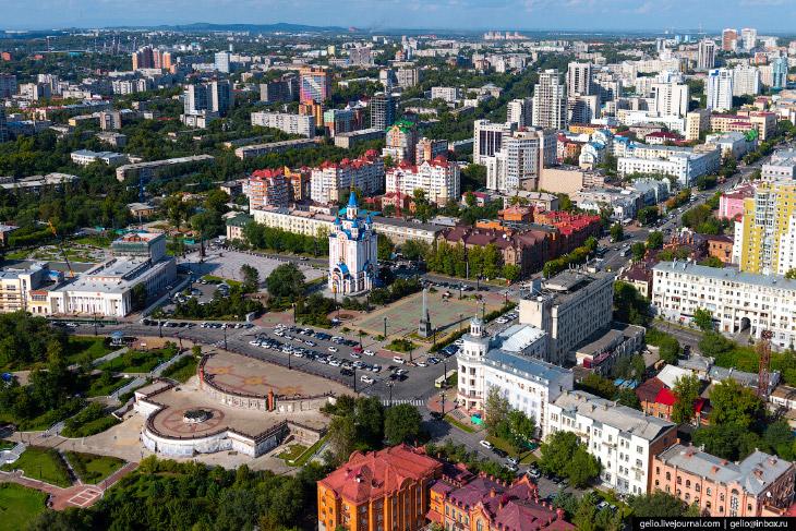 Комсомольская и Соборная площади