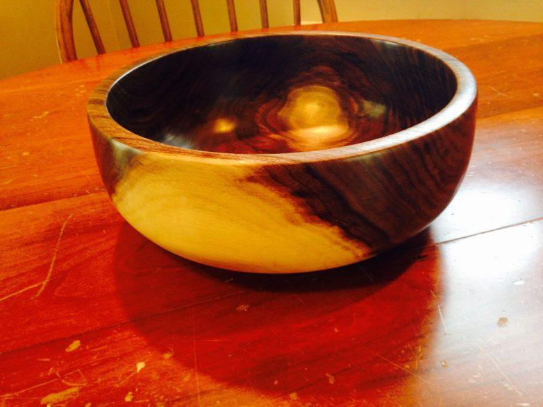 Как смастерить пиалу из полена
