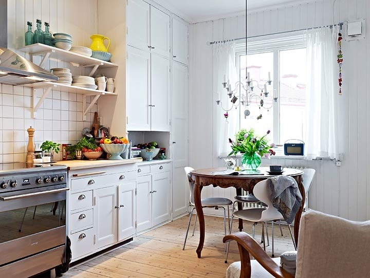 Интерьер кухни в скандинавском стиле: стильно, комфортно и уютно