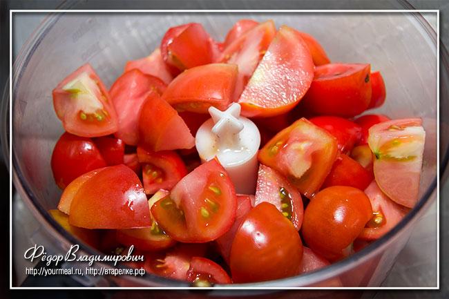 Баклажаны в томате с чесноком и острым перцем на зиму