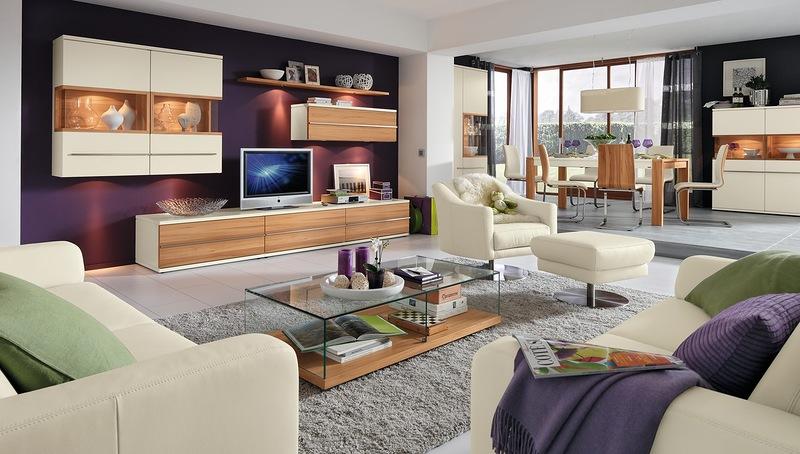 Немецкая мебель для гостиной в современном стиле