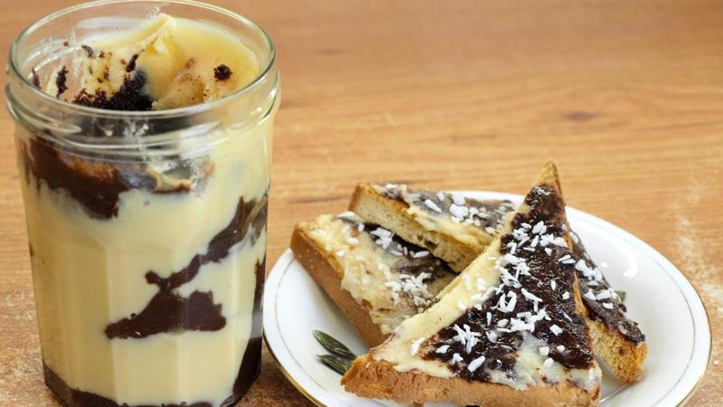 Молочно-шоколадная паста типа Нутеллы - видео рецепт