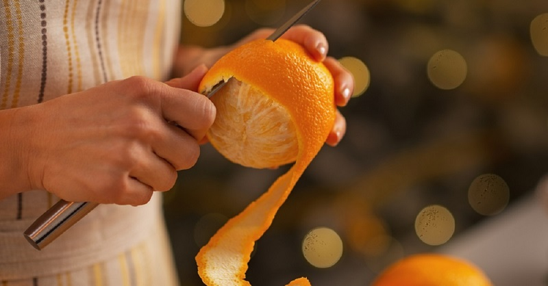 Чем полезна апельсиновая кожура