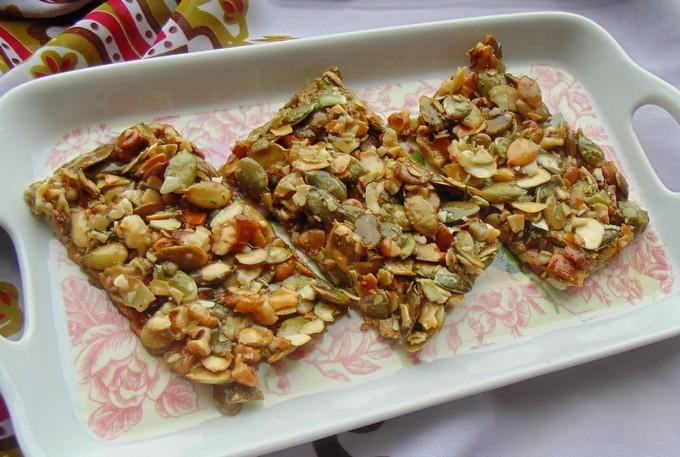Конфеты из тыквенных семечек