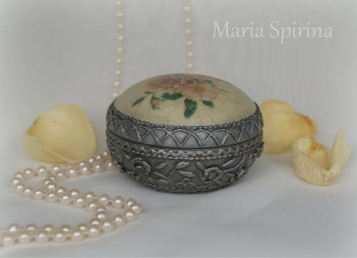 Серебряная малышка (имитация старинного серебра)