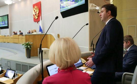 Госдума отказалась заслушивать министра экономического развития Орешкина