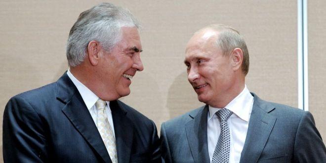 Путин уверен, что Тиллерсон попал в плохую компанию