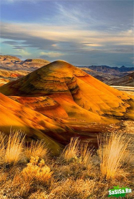 Холмы Пейнтед Хиллс, Орегон, США