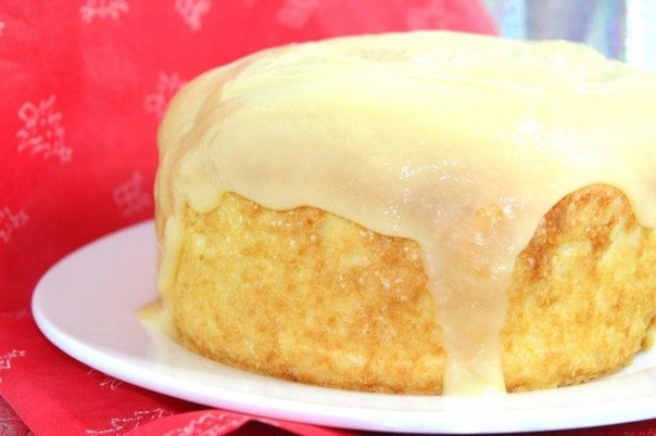 Торт-пирог «Пища ангелов»