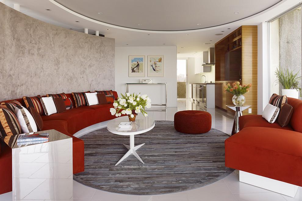 Дизайн квартиры с круглыми стенами