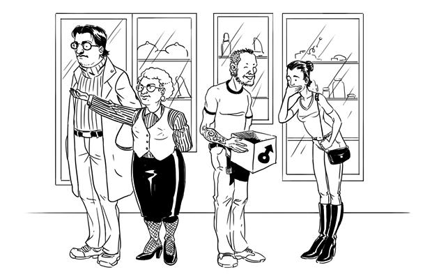 работник секс шопа