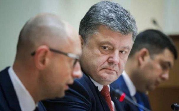 Вашингтон разрешил Яценюку и Гройсману свергнуть Порошенко