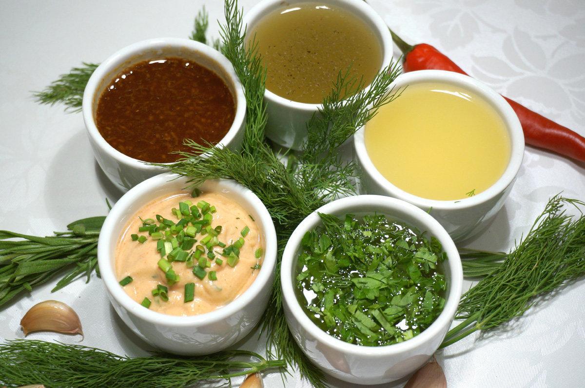 Главное в салате — это... соус!