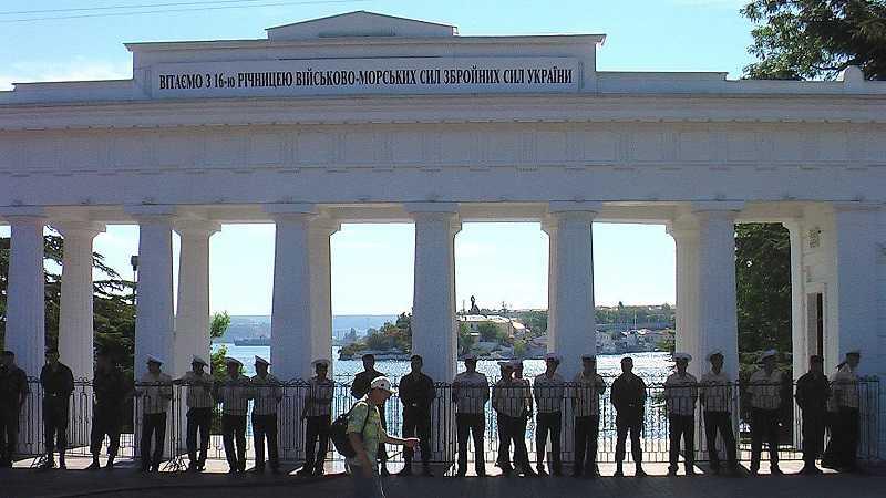 Попытка насильно украинизировать Севастополь в 2008 году, как это было...