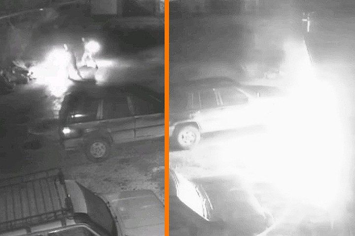 В Крыму задержали группу экстремистов-поджигателей