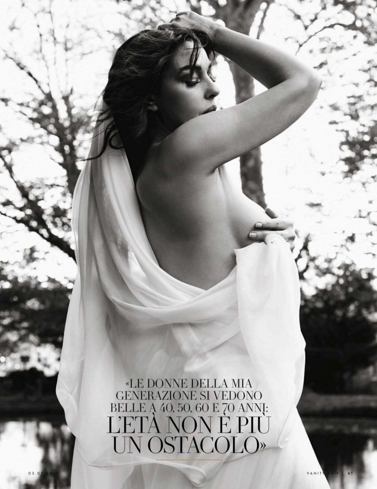 Моника Белуччи для итальянкого Vanity Fair