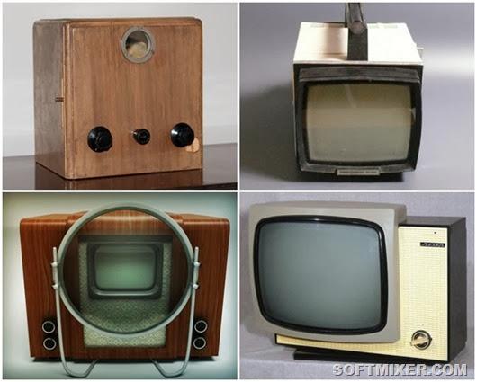 Знаковые модели чёрно-белых телевизоров