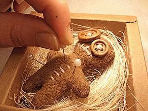 Сувенирная куколка-вуду в подарочной коробке. | Ярмарка Мастеров - ручная работа, handmade