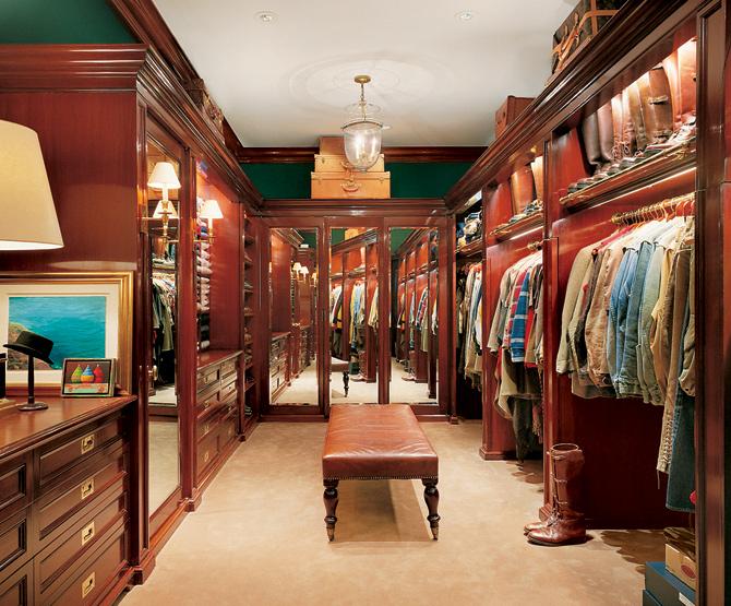 Гардеробная комната Original