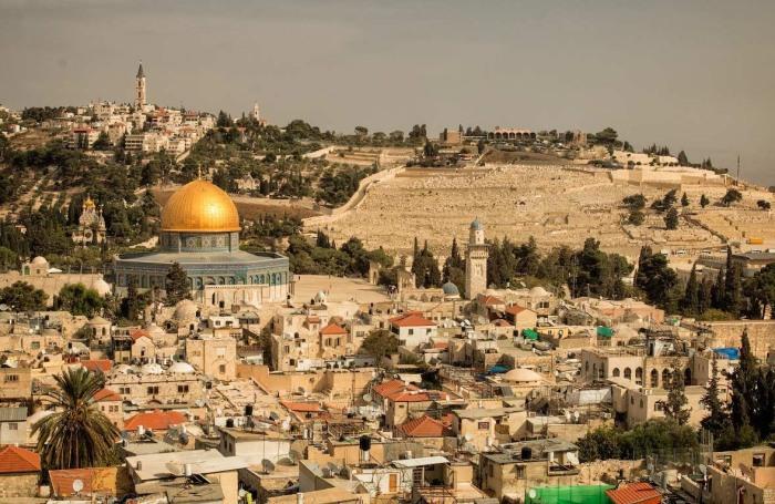 Сегодня древние Иерусалим выглядит так же, как во времена Христа.