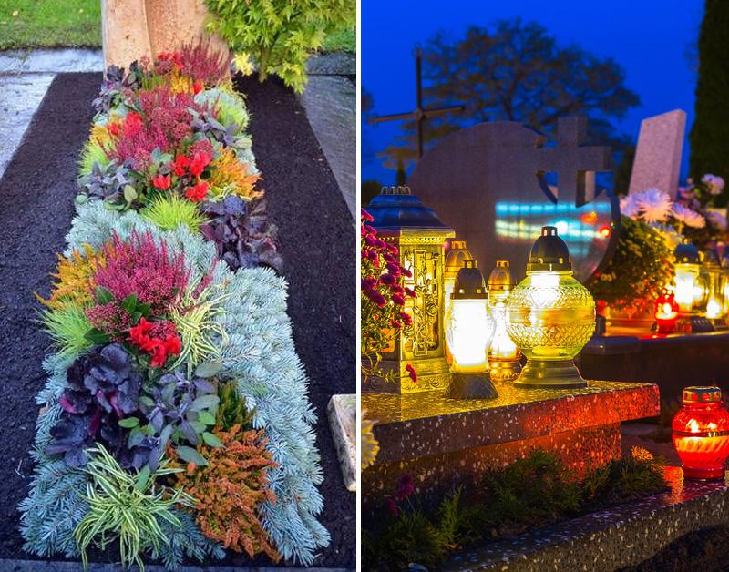 чем заменить искусственные цветы на кладбище