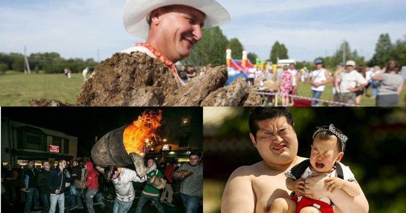 Безумней, выше, веселее: самые странные состязания в мире